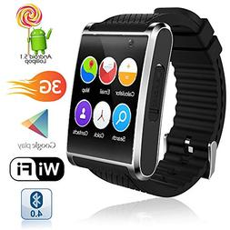 Indigi Swatch-D6-01 Professional 3G Smartwatch Phone Android 5 1
