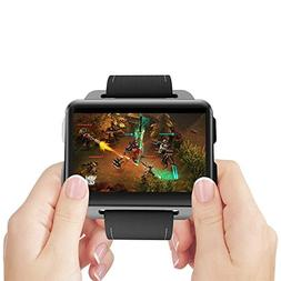 KOBWA 3G Smart Watch Phone, LEMFO LEM4 PRO - 2.2 Inch Big Sc