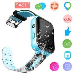 Kids Smart Watch - GPS Tracker Waterproof Child Watch Phone