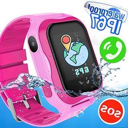 Kids Smart Watch Phone Boys Girls - Waterproof Kids Smartwat
