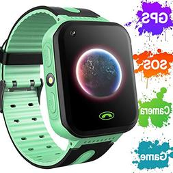 Kids Smart Watch Phone GPS Tracker for Boys Girls Christmas