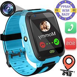 "Kids Smart Watch with GPS Tracker- 1.44"" Smart Watch Phone f"