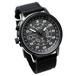 Solar Radio-Controlled watches/100 Meters Waterproof Perpet