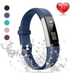 Lintelek Fitness Tracker, Slim Activity Tracker with Heart R