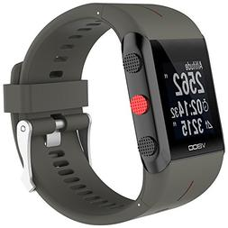 LtrottedJ ID130PLUS 0.96'' TFT Smart Bracelet Watch, Heart R