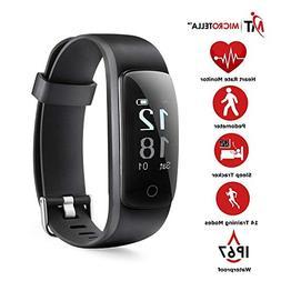 MICROTELLA Smart Fitness Tracker, Activity Watch Waterproof,