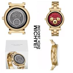 MK Michael Kors Access Womens Gold Tone Sofie Bracelet Smart