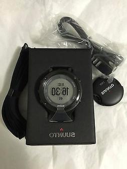 NEW Suunto Digital Watch Ambit2 SS019562000 Men's Black Rubb