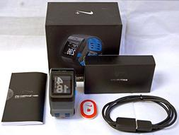 Nike+ Plus Foot Sensor Pod GPS Sport Watch Blue/Anthracite T