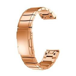 Owill Genuine Stainless Steel Bracelet Quick Replacement Fit