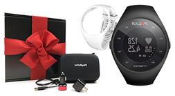 Polar M200  Running GPS Watch Gift Box Bundle | Includes Ext