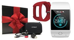 Polar M600  Gift Box Bundle | Includes Extra Silicone Band ,