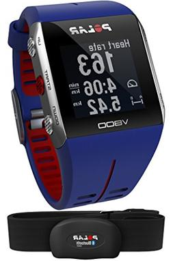 Polar V800 Multi-Sports Running Training Watch with GPS Blue