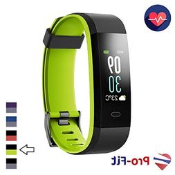 Pro-Fit VIP Fitness Tracker, Color Screen Activity Tracker,