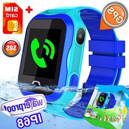 - Kid Smart Watch Phone IP68 Waterproof WiFi GPS Tracker Bes
