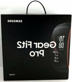 Samsung Gear Fit2 Pro Smart Fitness Band , Diamond Red, SM-R