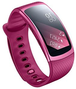 Samsung Gear Fit2 SM-R360 Sports Band Smartwatch/iPhone Comp