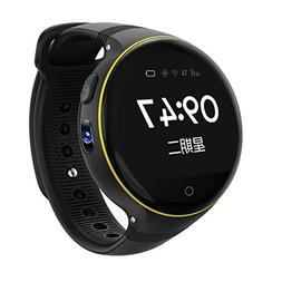 Smart Watch for Kids, 1.22 inches Round Screen GPS Tracker w