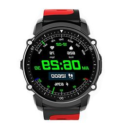 Smartwatch Swim Watch GPS Healthy Heart Rate Touch Screen Bl
