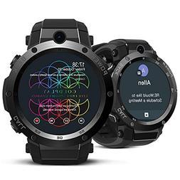 Smileyyi New Zeblaze Thor S 3G GPS Smartwatch 1.39Inch Andro