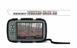 """Stealth Cam SD Card Reader and Viewer with 4.3"""" LCD"""