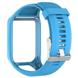 T.Face Silicone Watchband Colorful with Frame Holder Watch S