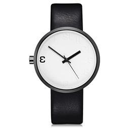 TOMI ,T021 Men's Watch Ikevan Simple Style Casual Men 's Rou