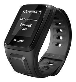 TOMTOM Runner 2 Cardio + Headphones GPS Fitness Watch, Black