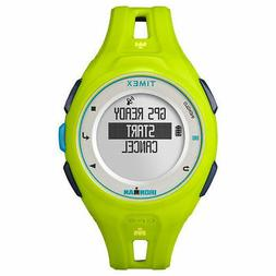Timex Watch GPS IRONMAN RUN X20 TW5K87500 race fluorescent g