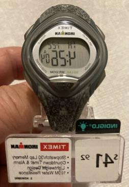 Timex Women's TW5M08600 Ironman Sleek 30 Gray Speckled Resin