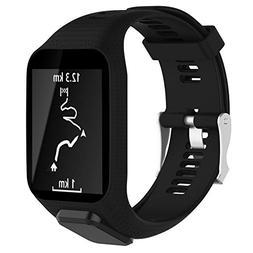 Vovi Watch Band for TomTom Runner 2/3 Series Spark GPS Adven