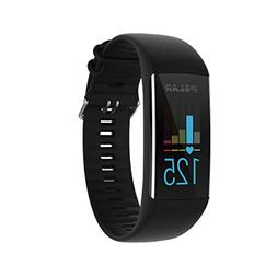 Polar A370 Fitness Tracker with 24/7 Wrist Based HR Black, S