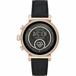 Michael Kors Access  - Ladies Sofie Black Silicone Smartwatc