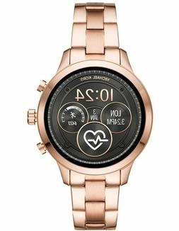 Michael Kors Access Rose Gold Touch Screen Runway Smartwatch