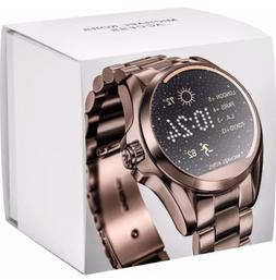 NEW MICHAEL KORS Access Sable Brown-Gold Bradshaw Touchscree