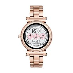 Michael Kors Access, Women's Smartwatch, Sofie Rose Gold-T