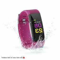 Sports Activity Sleep Tracker Fitness Heart Rate Pedometer B