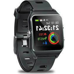 Activity Tracker GPS Sports Watch Touch Screen Heart Rate Wa