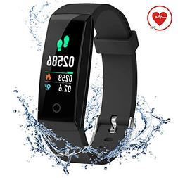 DoSmarter Activity Tracker,Color Screen Heart Rate Monitor P