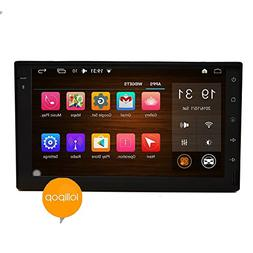 EinCar 7 inch New Android 5.1 OS Car Radio Double Din Quad c