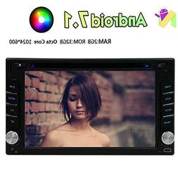 """6.2"""" Android 7.1 Double Din Car Stereo with GPS Navigation i"""