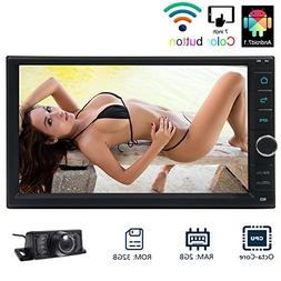 EinCar 7 Inch Android 7.1 OS Car Stereo 2 Din In Dash GPS Na