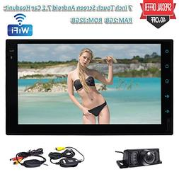 Android 7.1 System Car Stereo Double 2 DIN in dash Car PC Au