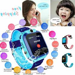 Anti-lost Child Kids Smart Watch Phone Fitness GPS Tracker L