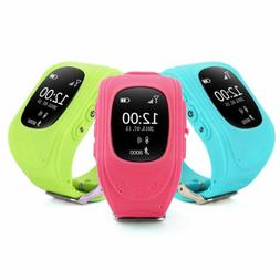 Q50 Anti-lost GPS  Tracker kid SOS Call smartwatch Phone for