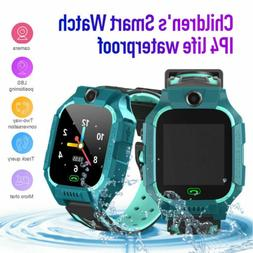 Anti-lost Smart Watch GPS Tracker SOS Call GSM SIM Xmas Gift