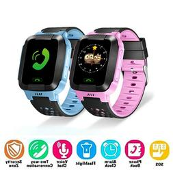 Anti-lost Smart Watch GPS Tracker SOS Call GSM SIM Waterproo