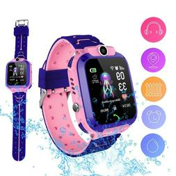 Anti-lost Smart Watch Touch Screen SOS Call Tracker Wrist Xm
