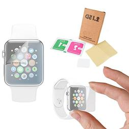 DURAGADGET Premium Apple Watch  TRIPLE PACK Screen Protector