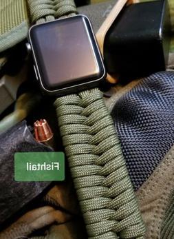 Apple Watch series 1 2 3 4 5 Standard paracord watchband w/s